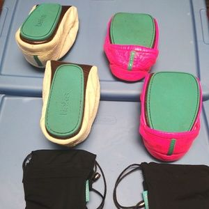Lot of 2 Tieks sz 9